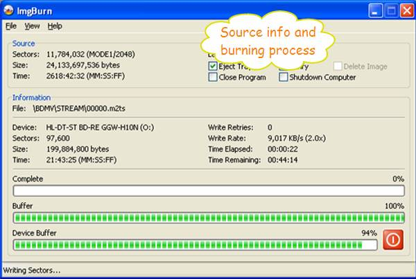 Blu-ray/DVD ripping, Perfect 1:1 copy, Blu-ray/DVD burning