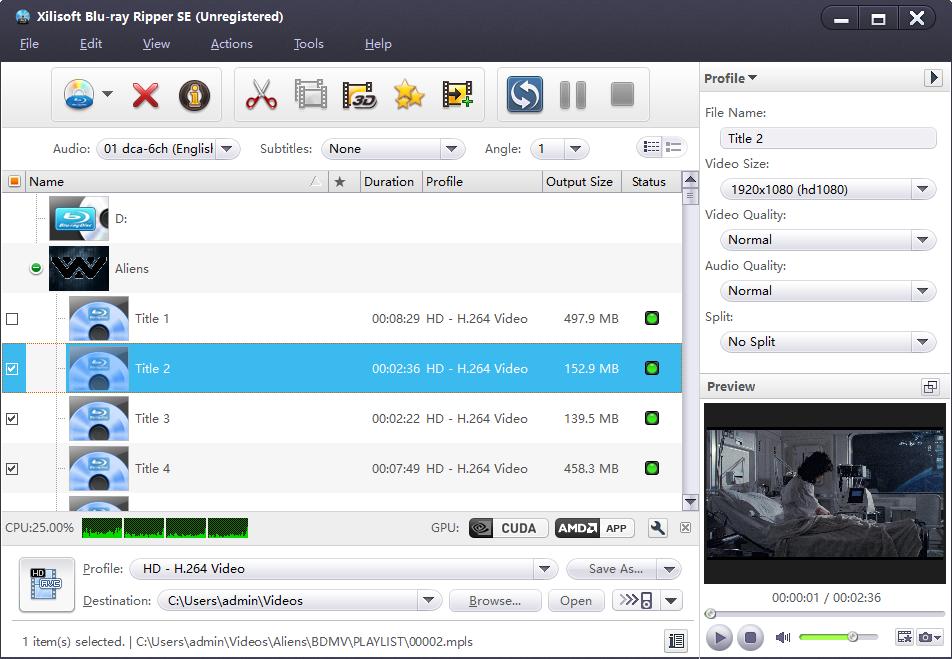 Xilisoft Blu-ray Ripper