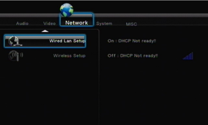 box network setting