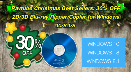 Pavtube Blu-ray Ripper Christmas Deal